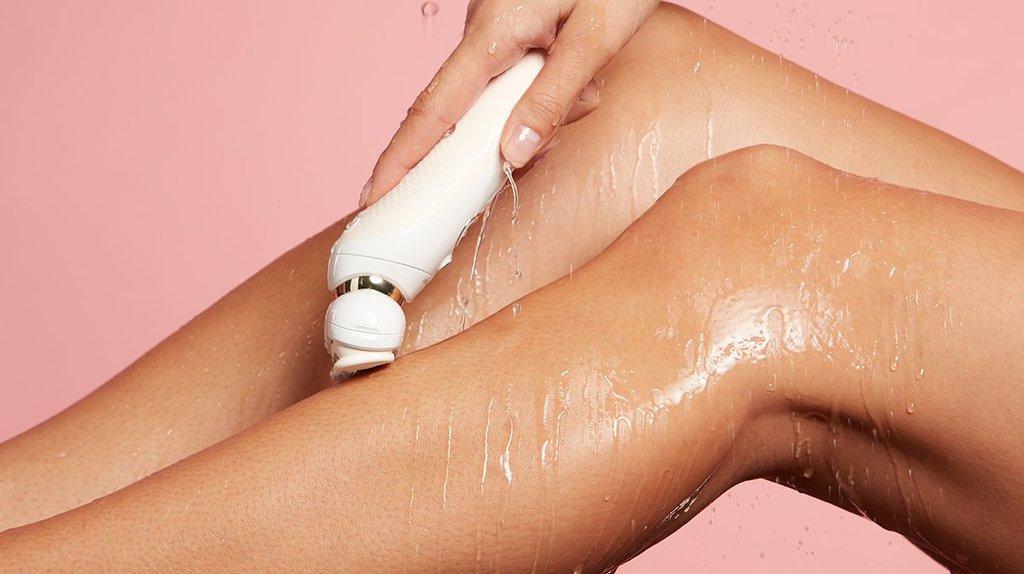wet skin epilation