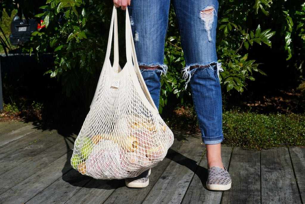 Woven Net Totes