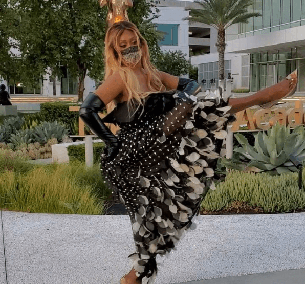 Laverne Cox's Dress For The Emmys