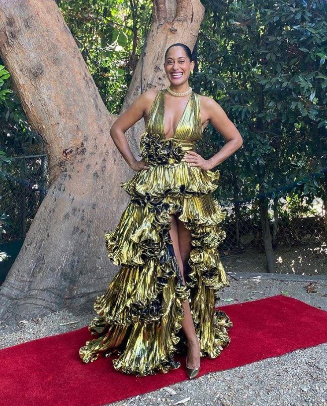 Tracee Ellis Ross' Emmy Dress