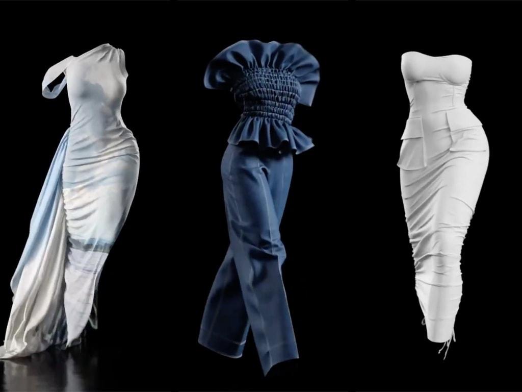 Snap from Hanifa's Virtual Fashion Show