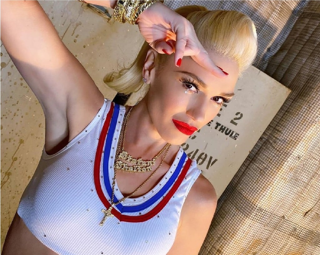 Gwen Stefani In Just a Girl Outfit 2020 Instagram Photo
