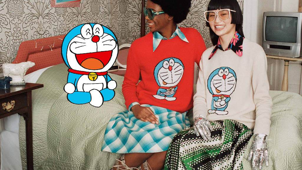 Gucci x Doraemon collection